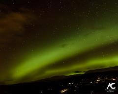 Aurora over Ben Wyvis Scotland