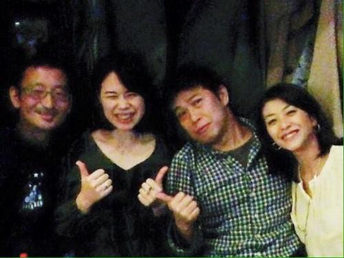 高田さん、椎葉さん、げんちゃんと。