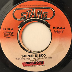 RIMSHOTS:SUPER DISCO(LABEL SIDE-A)