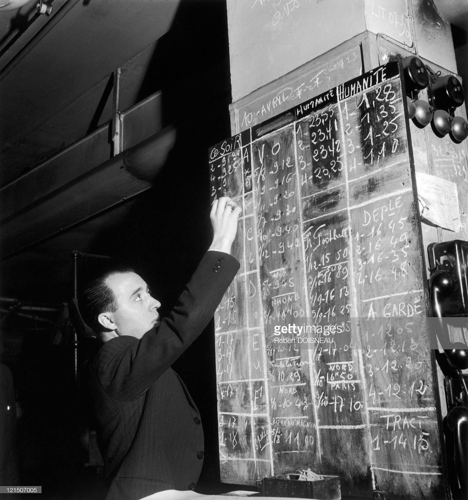 1947. Газета «Юманите»