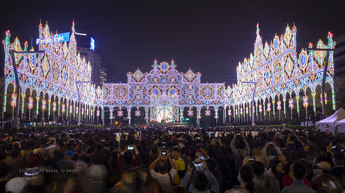 Dazzling Light Spectacle at TAIPEI LUMINARIE PX MART 2019 台北光之饗宴