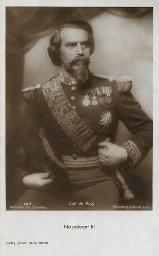 Carl de Vogt in Bismarck 1862-1898 (1927)