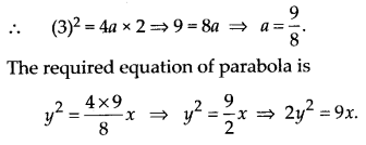 NCERT Solutions for Class 11 Maths Chapter 11 Conic Sections 9