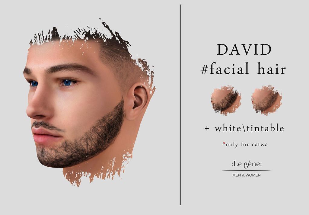 :Lg:@ new release David facialhair Mainstore - TeleportHub.com Live!