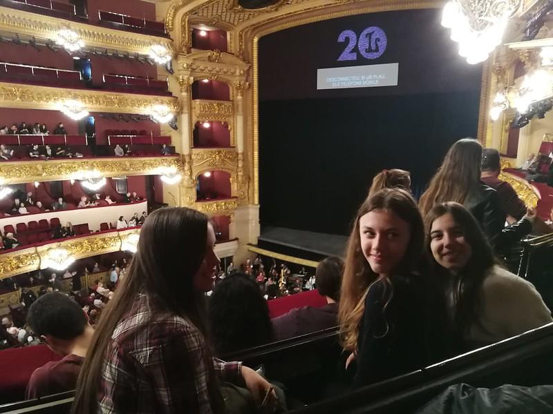 Alumnes de cant a Kàtia Kabànova