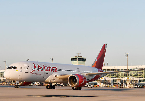 Avianca B787-8 en MUC (Munich Airport)