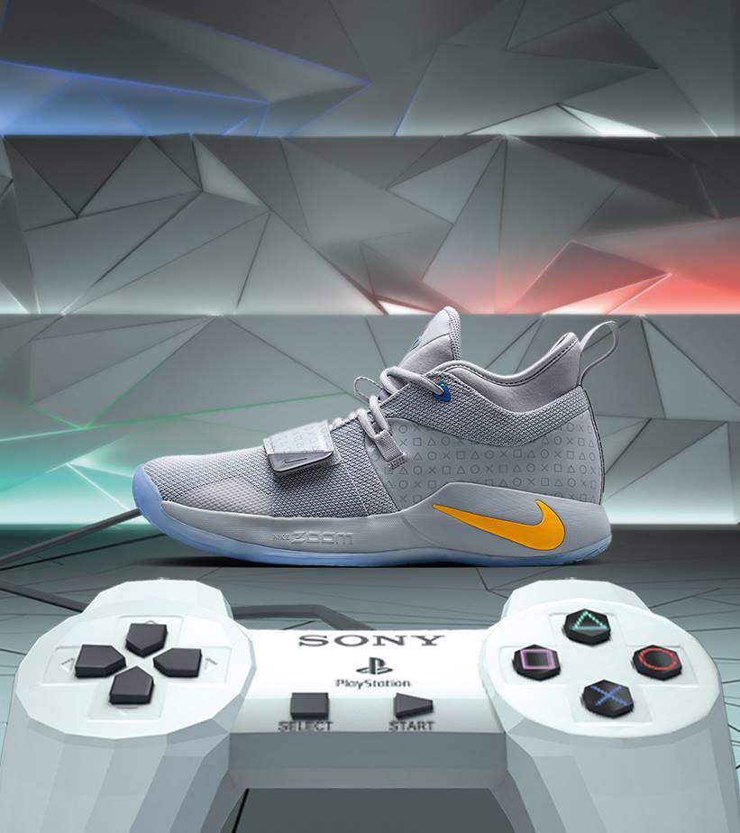 帶入懷舊感設計的驚喜聯名再一發!! PlayStation × Nike【Nike PG2.5 x PlayStation】聯名配色球鞋