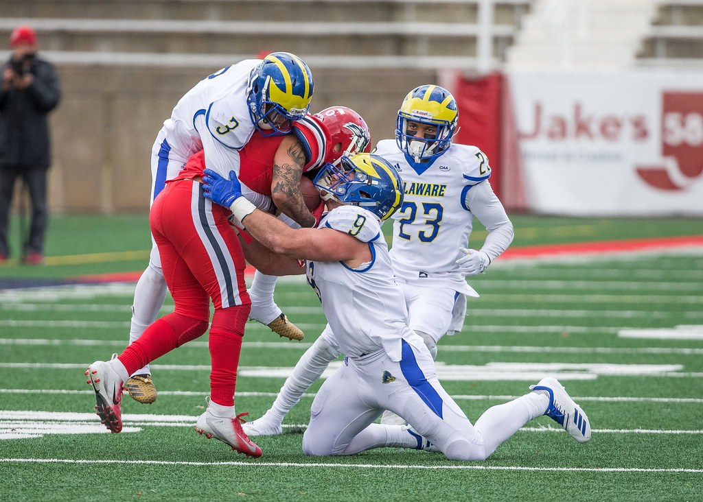 Delaware can't stay close with Stony Brook, leaves playoff fate to season's final week