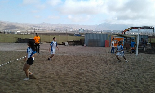 1er Campeonato Cuadrangular Escolar de Volley Playa