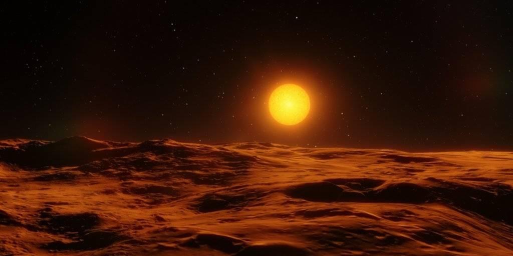 Une exoplanète découverte autour de l'étoile de Barnard