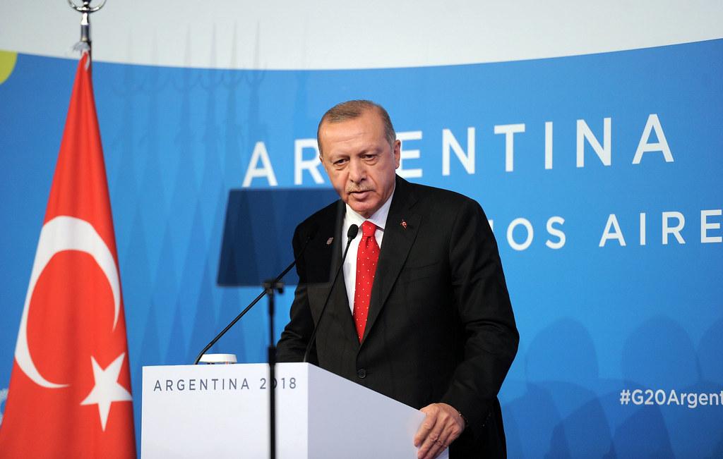 Conferencia de Prensa - Presidente de Turquía Recep Tayyip Erdoğan