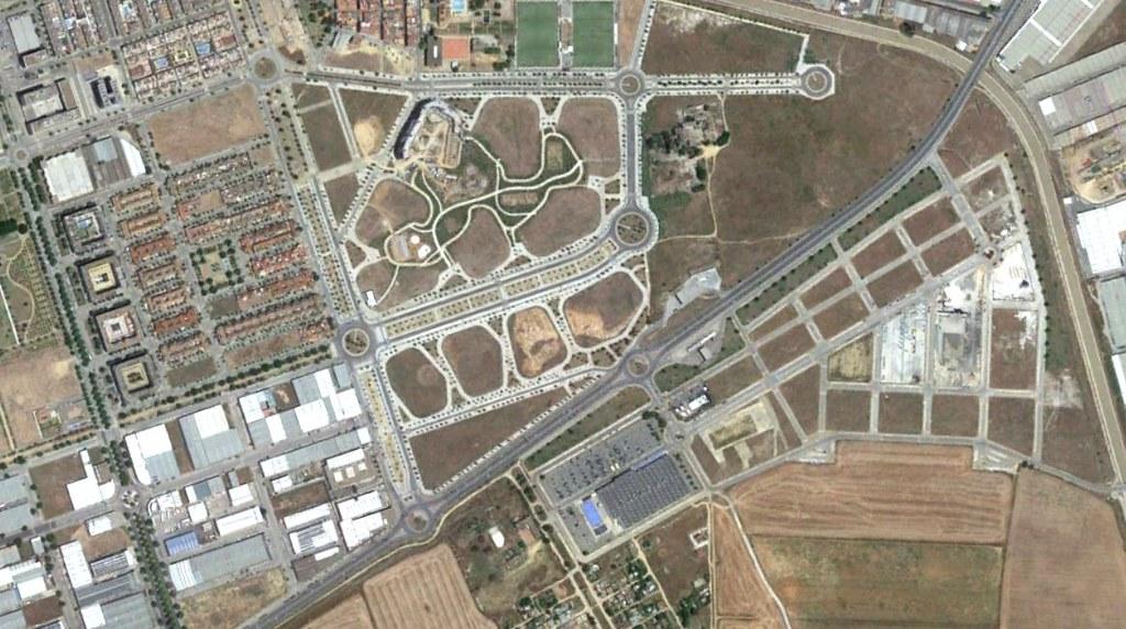 san rafael (oeste), sevilla, san rafurcian, después, urbanismo, planeamiento, urbano, desastre, urbanístico, construcción, rotondas, carretera