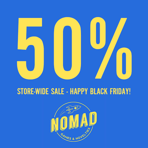 NOMAD // 50% Store-wide SALE