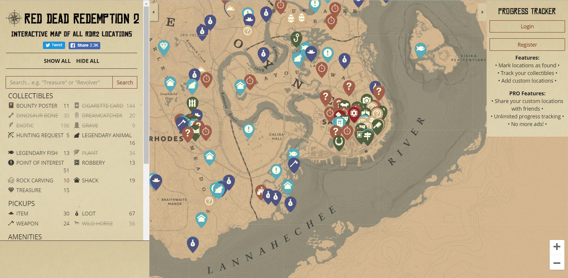 Rdr2 Karte.Red Dead Redemption 2 Interaktive Karte Von Fans Erstellt