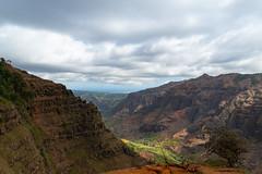 Waimea Canyon Aussichtspunkt Kauai, Hawaii