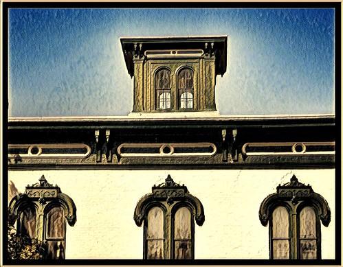 Fulton New York - J. W. Pratt House Museum - Historic - Architecture  Italianate style
