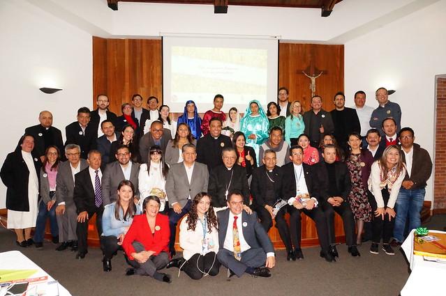 Iglesia colombiana tuvo encuentro fraterno con periodistas