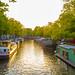 Golden Hour in Amsterdam by fjvallejo