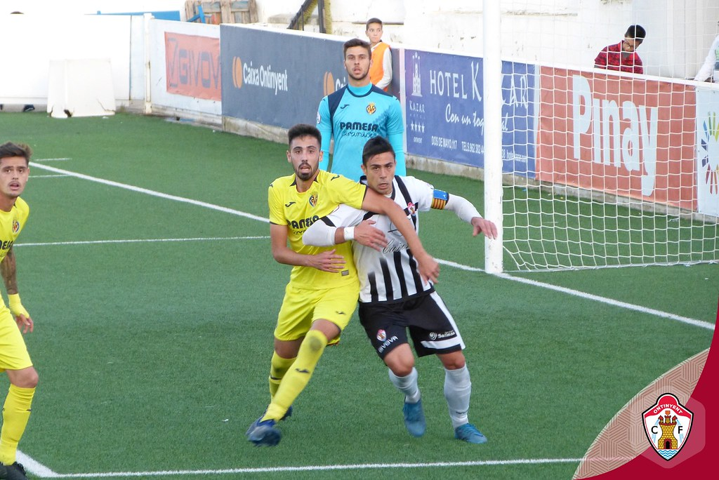 Ontinyent CF 1 - Villarreal CF B 2 - Jornada 11 - 1819