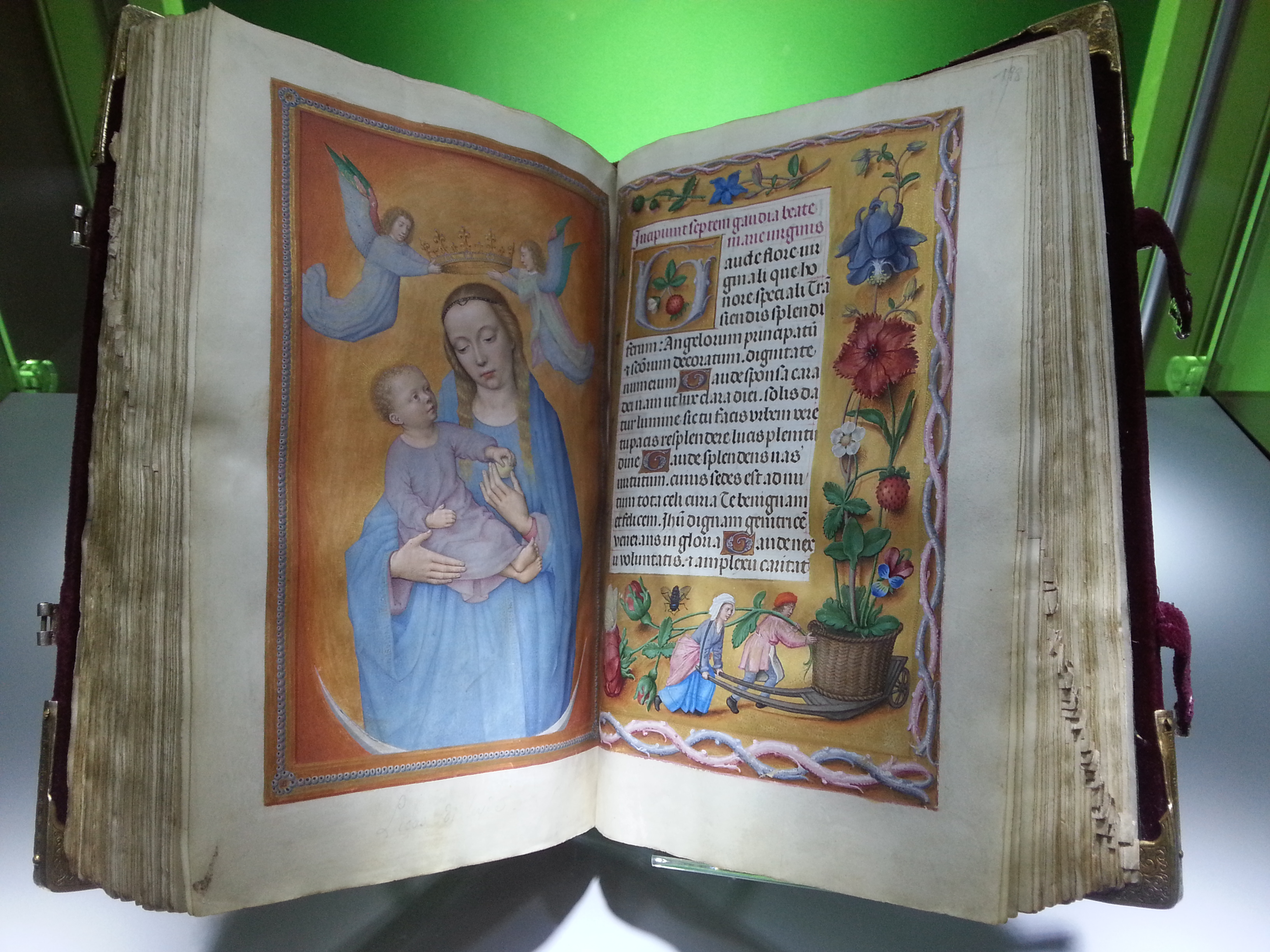 The Rothschild Prayerbook or Rothschild Hours, is an important Flemish illuminated manuscript book of hours, illuminated over the period c.1505 by a number of artists. It is now in a private collection.