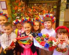 """Веселковий віршограй """"Слова у рідній мові, як квіти у віночку кольорові"""".08.11.18. ім. О. Грибоєдова"""