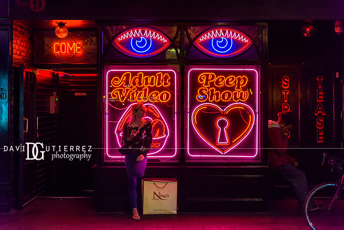 Peep Show - Soho, London, UK