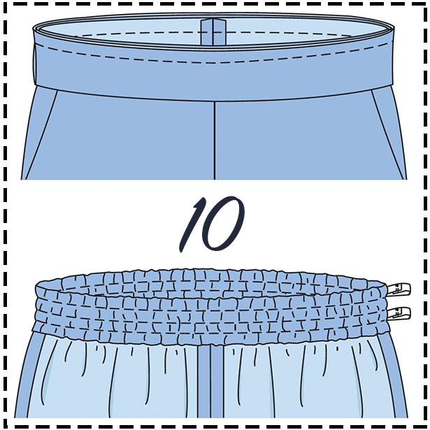 Pant Step 10
