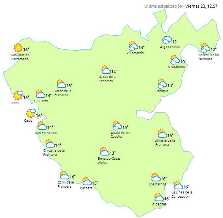 El tiempo: Continúa la lluvia este fin de semana