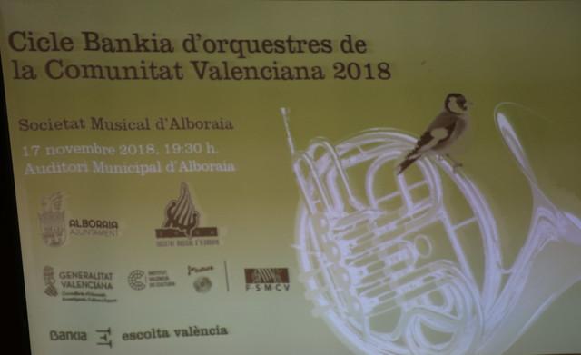 Concierto Orquesta SMA 17/11/2018