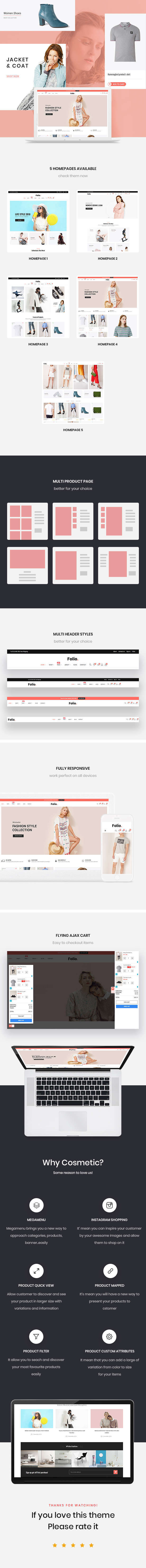 Folio Fashion Store prestashop 1.7 themes