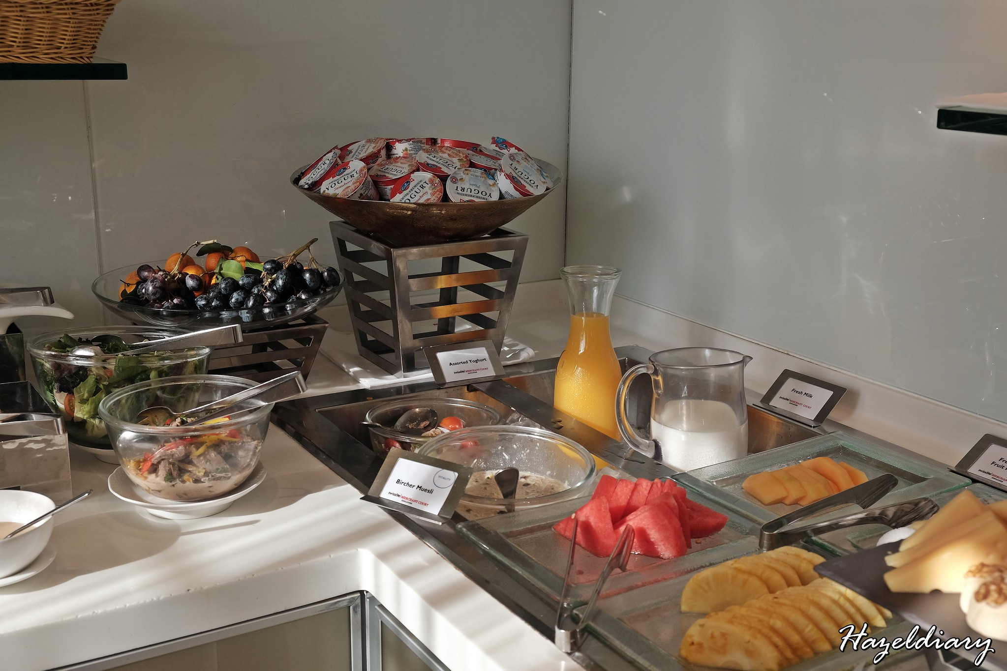 Swissotel Merchant Court-Executive Lounge-Breakfast