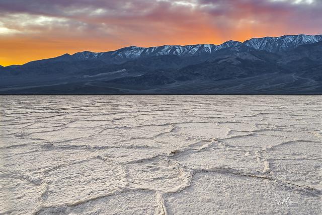 Badwater Basin Sunset