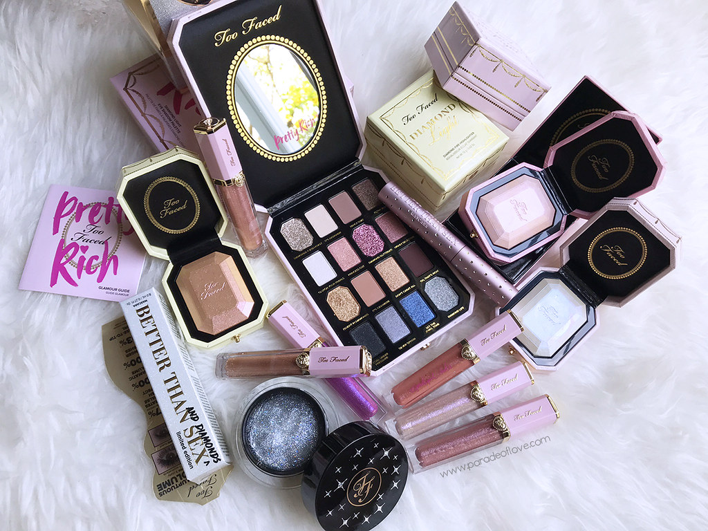 Too Faced Pretty Rich Makeup Collection