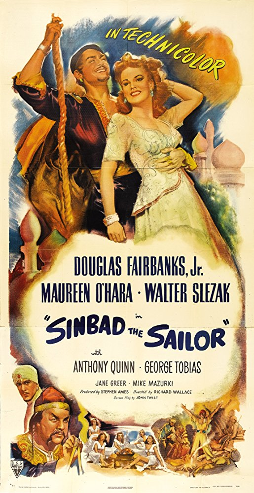 Sinbad, The Sailor - Poster 4