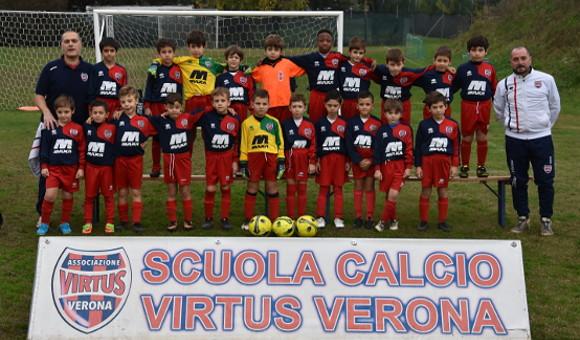 Primi calci B Virtus Soccer