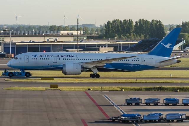B-2768 Xiamen Airlines Boeing 787-8 Dreamliner @ Amsterdam Schiphol (AMS / EHAM) / 27.05.2017