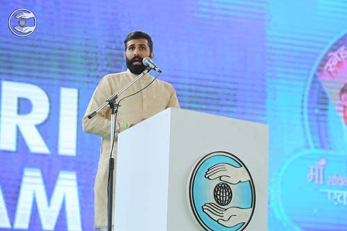 Hindi speech by Capt. Mandhir, Dwarka, DL