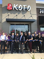 Grand Opening of Koto Japanese Steakhouse!