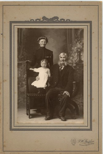 PB12 10 Thomas Heard, Mrs (Wm) Ellen Howard uncle of Harry Baker, David Howard c1900s