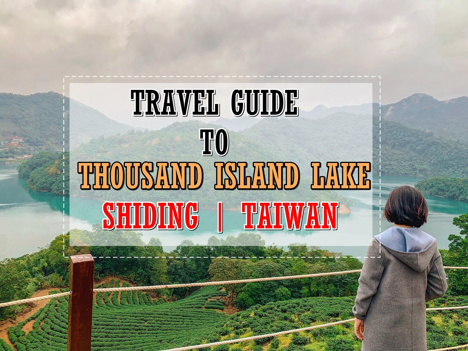 [TAIWAN TRAVELS] A Half Day Trip to Shiding Thousand Island Lake from Taipei- The Hidden Gem