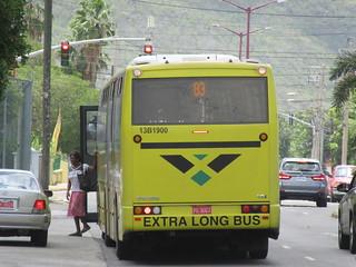 Jamaica Urban Transit Company (JUTC) Volvo VDL Jonckheere B12