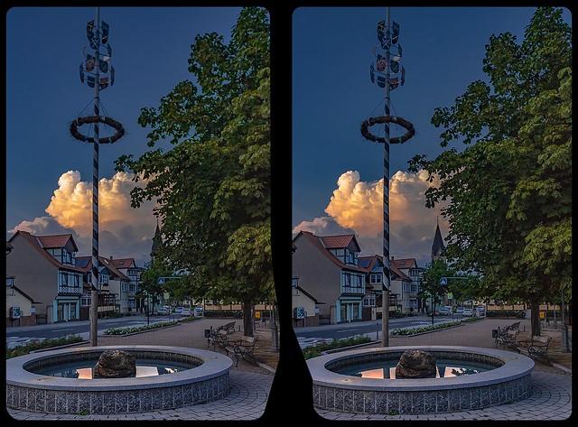 Bad Suderode 3-D / CrossView / Stereoscopy / HDRi