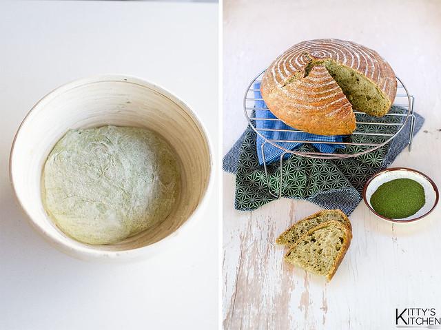 Pane senza impasto alla moringa