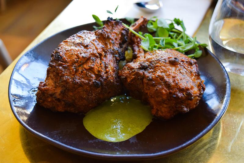 Lamb Chops at Booma, Brixton
