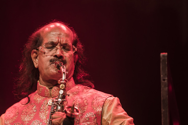 Kadri Gopalnath @ Le Guess Who? (© Joao MB Costa)
