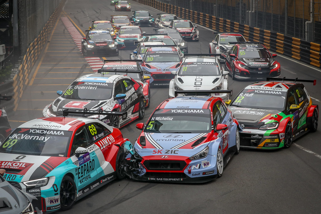 05 MICHELISZ Norbert, (hun), Hyundai i30 N TCR team BRC Racing, action during the 2018 FIA WTCR World Touring Car cup of Macau, Circuito da Guia, from november  15 to 18 - Photo Alexandre Guillaumot / DPPI