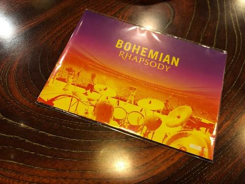 クイーンの映画「ボヘミアン・ラプソディ」のポストカード