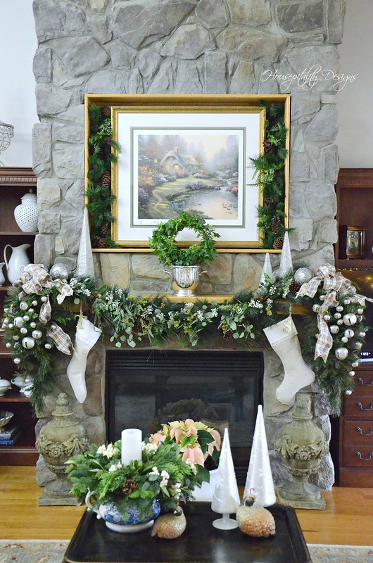 Christmas Mantel-Housepitality Designs-3