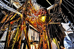 The Webb Telescope's 'Golden Spider'. Original from NASA. Digitally enhanced by rawpixel.