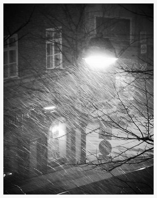 lumisade Töölösssä